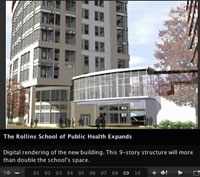 Rollins School of Public Health Expands