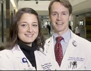 Annette Esper, MD and Greg Martin, MD