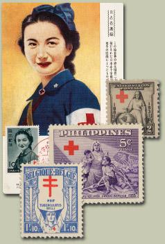 Stamps Honor Dedication of Nurses