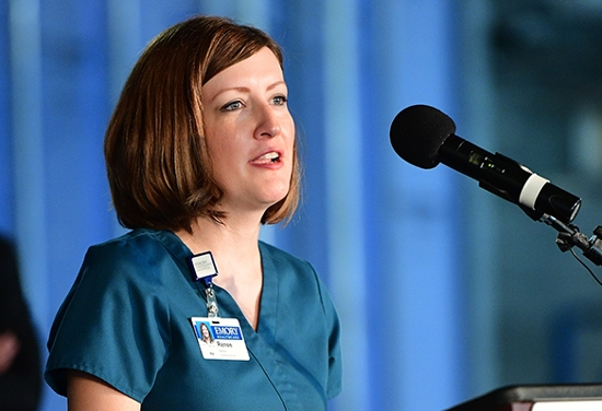 Renee Spinks, bone marrow transplant clinical nurse specialist