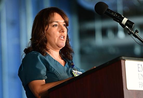 Sonia Benenati, transplant nurse clinician