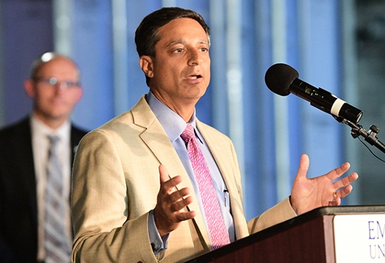 Sagar Lonial, chair, Hematology and Medical Oncology, Winship Cancer Institute
